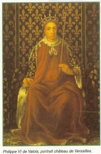 philipe VI de Valois roi de France